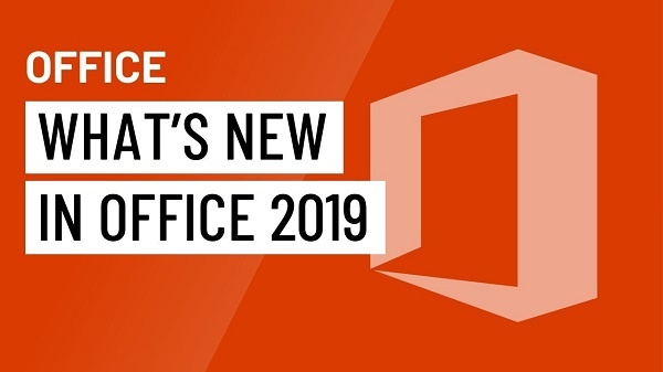 What are the latest features in the Office 2019 version